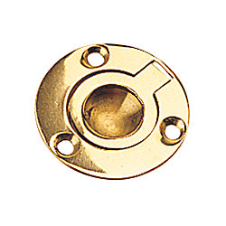 BRASS ROUND LIFT RING 1-5/8IN