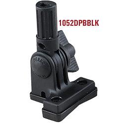 BLK BRKT W/KNOB/PLUG HRZ MT F/1134/1181