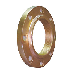 F-Series Bronze Flange Adapters - Internal NPT Threads