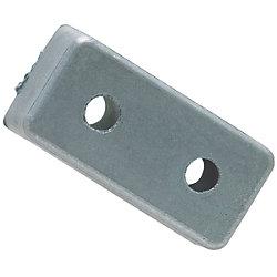 ZINC PLATE 6X12X1-1/4IN