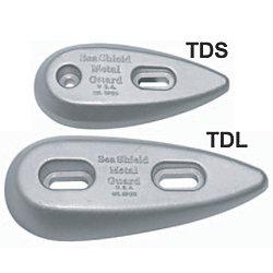 ZNC LG TEARDROP 2-1/8X5-1/4X3/4IN