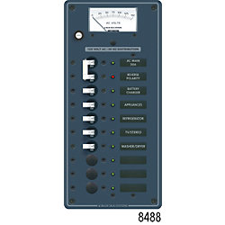 120V A SERIES PANEL MAIN 8 POS VOLTMETER