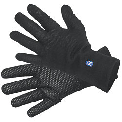 WATERPROOF GLOVE FLEECE LINED BLACK