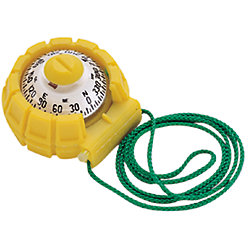 YELLOW HAND BEARING COMPASS