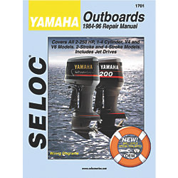 YAMAHA OUTBOARDS ALL ENG. 1984-1996