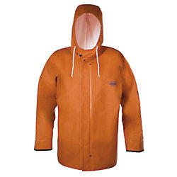 HOODED F/W JACKET ORANGE XSMALL
