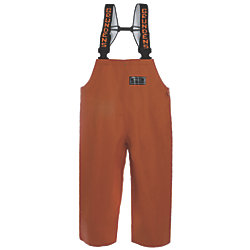 BIB PANT ORANGE XSMALL