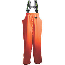 BIB PANT ORANGE X LARGE