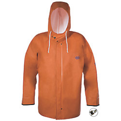 HOODED F/W JACKET ORANGE W/CUFF M