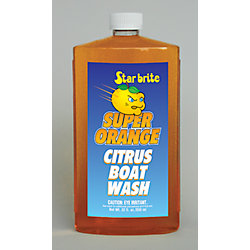 QT SUPER ORANGE CITRUS BOAT WASH