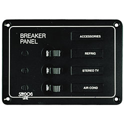 BREAKER PANEL  AC/DC 3 CIRCUIT
