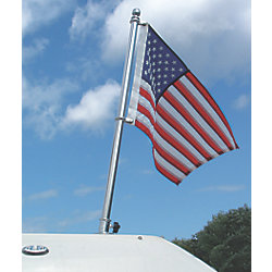 1IN SS FLAG POLE KIT 18INH
