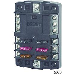 12-32V ST FUSE BLOCK 6 CIRCUIT W/BUS