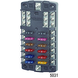 12-32V ST FUSE BLOCK 12 CIRCUIT W/BUS