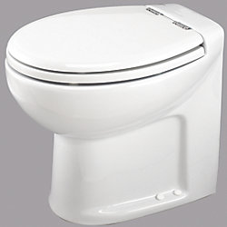 WHITE 24V TECMA SILENCE PLUS TOILET
