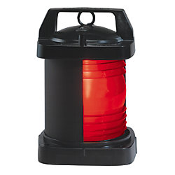 24/120/220V 3NM BLK SGL SIDELIGHT RED