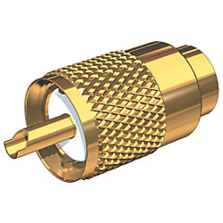 CONNECTOR GOLD VHF F/RG-8U & RG-213