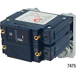 150A LC2 FLAT ROCKER CIRCUT BREAKER