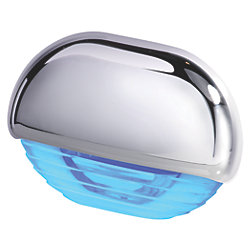EASY FIT LED BLUE W/ CHROME CAP