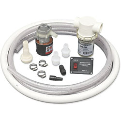 CU-200 COOLING WATER KIT W/12V PUMP