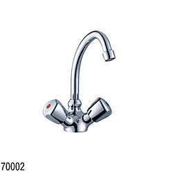GALLEY MIXER CLASSIC CHROME J SPOUT