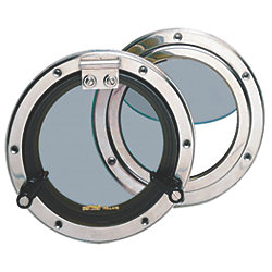 SS PORTHOLE, 6IN OD
