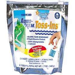 AQUA KEM TOSS INS (10 PACKETS)