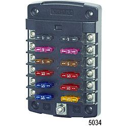 12-32V ST FUSE BLOCK 12 CIRCUIT