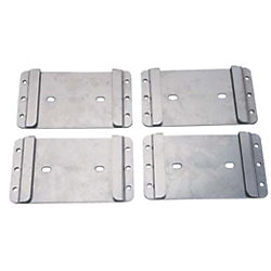 Removable Bases for Dinghy Chocks - Set of 4