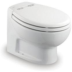 WHITE 24V TECMA SILENCE TOILET-SHRT