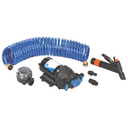 24V 4GPM WASHDOWN KIT W/25FT HOSE
