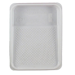 Disposable Paint Tray Liner - White Plastic