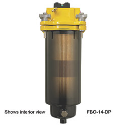 FBO-14 FILTER HOUSING W/DIFF PRESS GAUGE