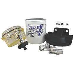3/8IN CLEAR SITE FUEL/H20 SEPERATOR KIT