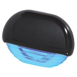 EASY FIT LED BLUE W/ GOLD CAP