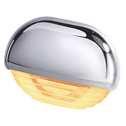 EASY FIT LED AMBER W/ CHROME CAP