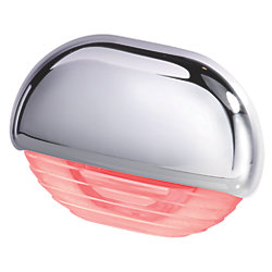 EASY FIT LED RED W/ CHROME CAP
