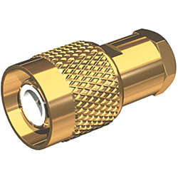 TNC Male Connectors - Gold Plated