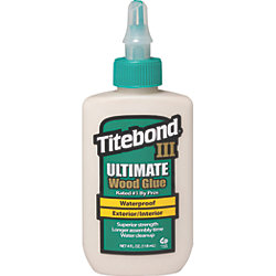 4 OZ TITEBOND III WOOD GLUE