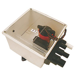Multiple Port Shower Sump - 1000 GPH