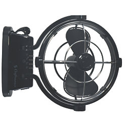 SIROCCO GIMBAL FAN 24V BLACK