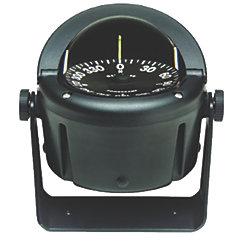 "Helmsman Compass - 3-3/4"" Flat Dial, Bracket Mount"