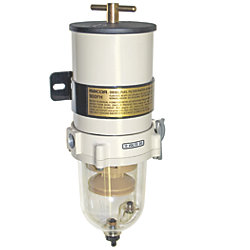 900 Series Turbine Diesel Fuel Filter - with Clear Bowl and Heater