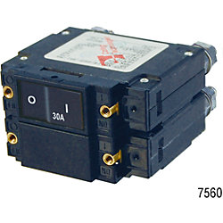 DUAL CIRCUIT BATTERY SWITCH W/ACR