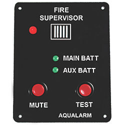 FIRE SUPERVISOR CIRCUIT ALARM