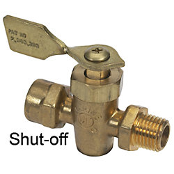 1/4IN FNPT/FNPT SHUT-OFF VALVE