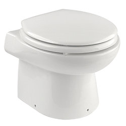 Electric Toilet - Dual Flush - 12V