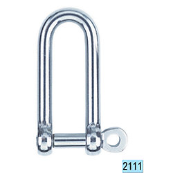 6MM LONG D SHACKLE