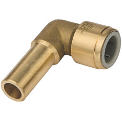 1/2IN CTS BRASS STACKABLE ELBOW