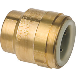 1IN CTS BRASS END STOP